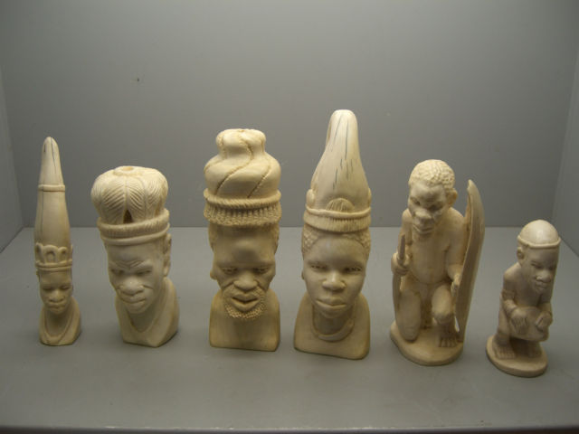 House Clearance Brighton Reveals African Carvings