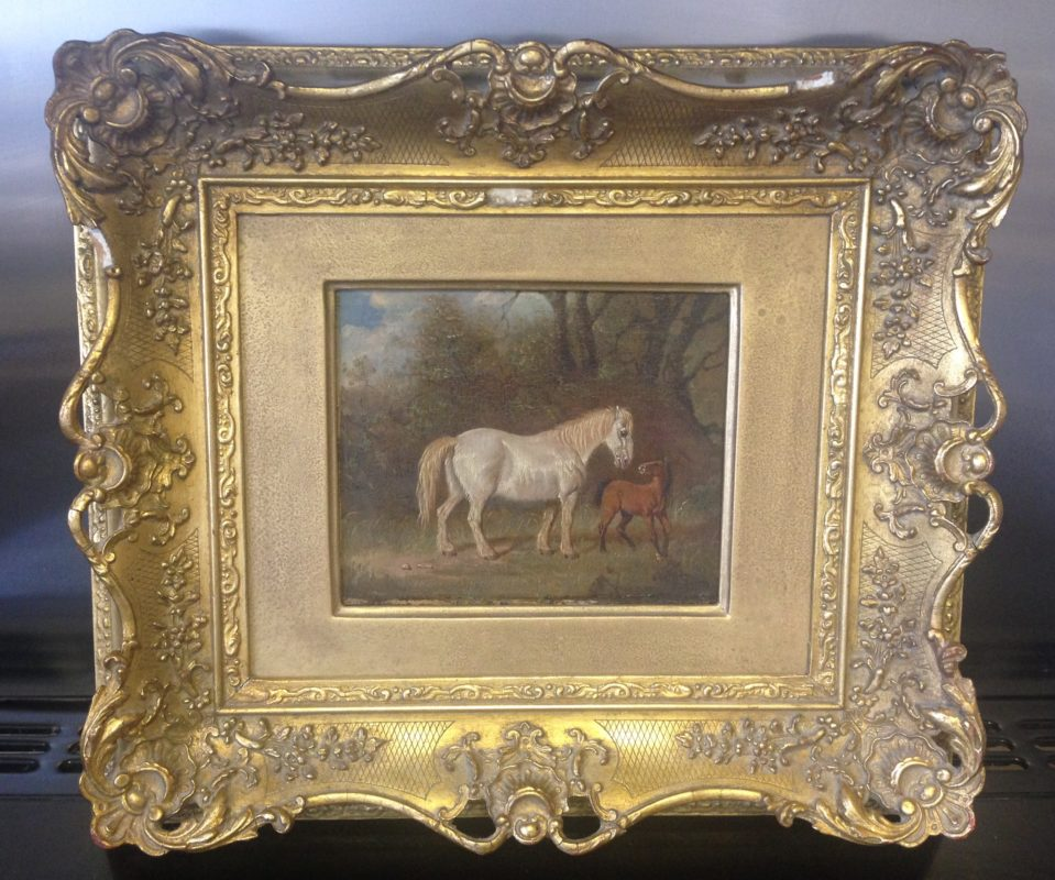 House Clearance Worthing Finds Oil Painting
